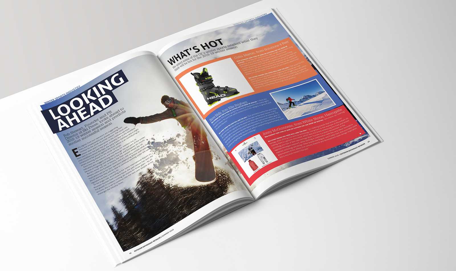 OE Retailer magazine pages